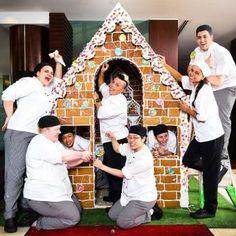 Gingerbread House at the Shangri-La Hotel Sydney. December 2015 Event