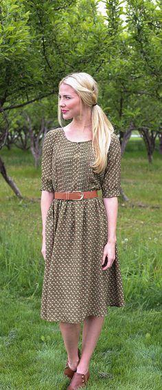 Clara Dress [MDS2422] - $64.99 : Mikarose Boutique, Reinventing Modesty