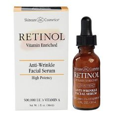 Amazon.com: Retinol Anti-Wrinkle Facial Serum: Beauty