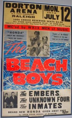 beach boys vintage concert posters - Google Search