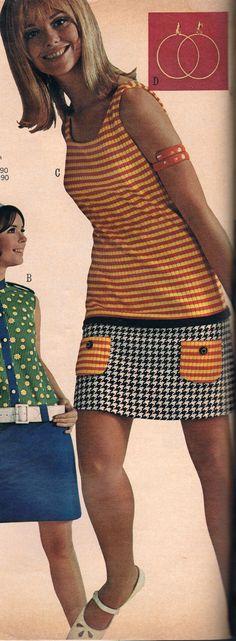 Affordable Women S Fashion Clothing 60s Fashion Trends, 60s And 70s Fashion, Mod Fashion, Fashion Fabric, Teen Fashion, Vintage Fashion, Womens Fashion, 1960s Fashion Women, Fashion 2017
