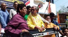 জনস্রোতকে সাথে নিয়েই মনোনয়ন জমা দিলেন মানস ভুঁইয়া - Najore Bangla News