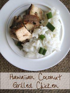 Daily Dish - Hawaiian Coconut Grilled Chicken - Daily Dish Magazine