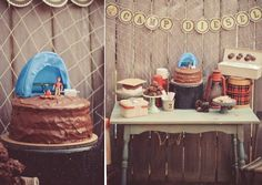 camping themed party