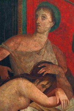 *POMPEII, ITALY ~ Pompeii's largest house Villa dei Misteri (Villa of the Mysteries),