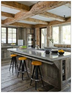 Unique Minimalist Concrete Kitchen Countertop Ideas