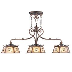 Sea Gull Lighting Manor House Mini Pendant in Weathered Iron For