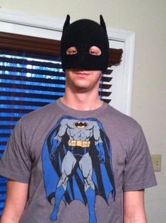 Batman Mask. Free crochet pattern!