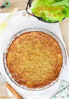 Avec un peu de parmesan, de sauge et d'ail pour lui donner du pep's. Un gâteau salé, vous l'aurez deviné ! Qui va avec tout, se mange aussi bien chaud que froid, en accompagnement ou pour un déjeuner léger avec...