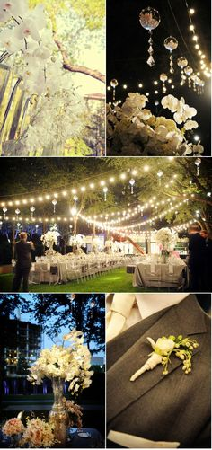Gorgeous wedding -- The Nasher Sculpture Garden Wedding by Bella Flora of Dallas | Style Me Pretty