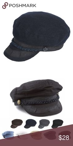 b8a316a5 Features- Charcoal color, braid band detail, thin inner lining for cooling  and comfort.