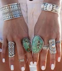 Resultado de imagen de bohemian style rings
