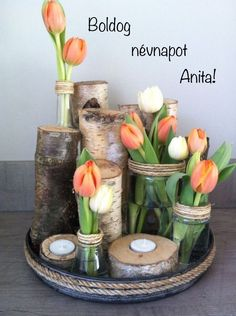 Legende Tulpen und Birkenzweige Legend of tulips and birch branches Related posts: Legend birch trunk Diy Legend Dekolaterne Legend of living room Legend Deco Rose Shabby Landhausstil annyWi Birch Branches, Birch Logs, Deco Nature, Forest Decor, Deco Wreaths, Branch Decor, Mason Jar Centerpieces, Easter Centerpiece, Wedding Centerpieces