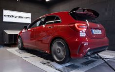 Mercedes-Benz AMG tuned by mcchip-dkr Mercedes Benz, Mercedes A Class, A45 Amg, Dynamo, Benz A Class, Car Pictures, Cars, Wallpaper, Wallpapers