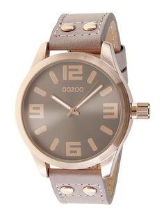 Oozoo C4987 XXL Damenuhr rose-pinkgrau
