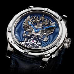 Louis Moinet the Russian Eagle  The Russian Eagle has landed in haute horlogerie (See more at En: http://watchmobile7.com/articles/louis-moinet-russian-eagle) #watches #louismoinet