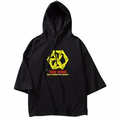 55b23022c Half Sleeves, Thin Hoodies, Exo Kokobop, Harajuku, Korean Fashion, Hooded  Sweatshirts