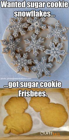 sugar cookies fail