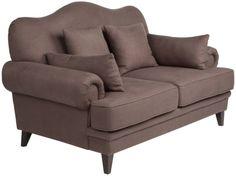 Метки: Маленькие диваны.              Материал: Ткань, Дерево.              Бренд: MHLIVING.              Стили: Классика и неоклассика.              Цвета: Коричневый.