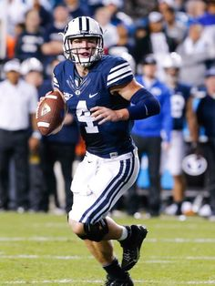 BYU upsets No. 15 Texas on September 2013 Byu Football, College Football, Football Helmets, Top Online Casinos, Best Online Casino, Byu Sports, Sports Images, Sports Figures, Basketball