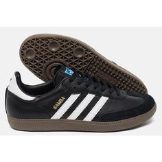 Adidas Samba Mens Shoe ($70) ❤ liked on Polyvore featuring men's fashion, men's shoes, adidas mens shoes, mens cross training shoes and mens shoes