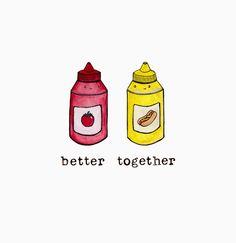 Ketchup + Mustard