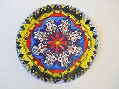 Art With Mrs. Lane Radial Design Mandala drawing watercolor 7th grade art middle school