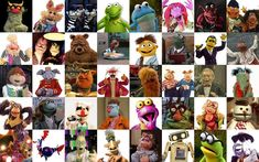 """15 Great Muppets That Joined After """"The Muppet Show"""" Mayhem Band, Statler And Waldorf, Swedish Chef, Sesame Street Muppets, The Muppet Show, Miss Piggy, Kermit The Frog, Scooters, Cross Stitch"""