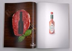 Tobasco ads by MARKETWAY Cyprus ---> Repinned by www.gers.nl