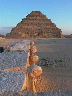 Pyrimid of  Djoser, Egypt