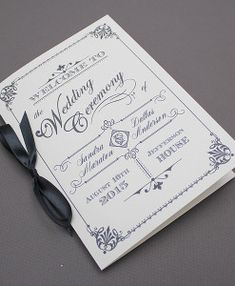 Wedding Program Template, Instant Download, Bohemian Floral Wedding ...