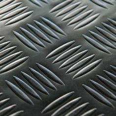 Rubber-Cal Diamond Grip Resilient Mat Garage Flooring Dark Gray - 03-166-2MM-DG-10