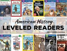 American History Leveled Readers: CC Cycle 3