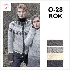 no - Spesialist på islandsk garn Men Sweater, Pullover, Sweaters, Black, Fashion, Threading, Moda, Black People, La Mode