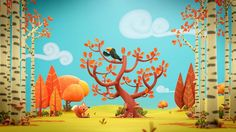 Autumn Leaves - BlenderNation