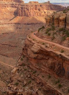 The Shafer Trail in Canyonlands