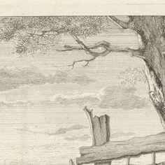 Rustend vee in een landschap, Christiaan Godfried Schutze van Houten, after Jacob van Strij, 1821 - 1869 - Search - Rijksmuseum