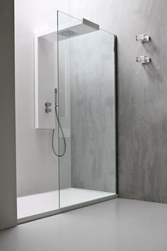 frameless shower screens with door double - Google Search