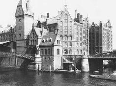 Jousset - Speicherstadt Hamburg, c.1910