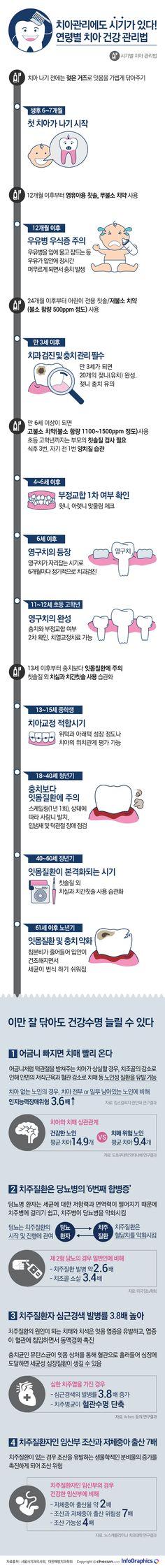 치아건강이 흔들리면 전신건강이 무너진다 - Today's InfoGraphics