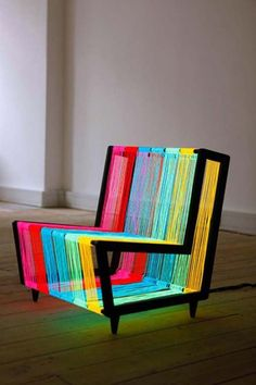 colorful sitting