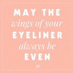eyeliner quote