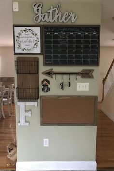 Home Remodeling Decor 49 Parent Command Center Ideas for Busy Moms Parent Command Center, Command Centers, Command Center Kitchen, Home Renovation, Home Remodeling, Home Organization, Organization Station, Home Projects, Farmhouse Decor