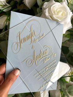 Wedding Invitations now at super affordable prices! #weddinginvitations #weddinginvites #suedeenvelope #suedeinvitation #velvetenvelopes #velvetweddinginvitations #velvetinvitations #njweddings #njweddinginvitations #njinvitation #njbride #acrylicinvitation #acrylicinvite #weddinginvitation #weddingstationery #acrylicinvitations #luciteinvitation #weddinginspiration #modernwedding #minimalistweddinginvitation Velvet Wedding Invitations, Shabby Chic Invitations, Rustic Wedding Stationery, Burlap Wedding Invitations, Wood Invitation, Acrylic Wedding Invitations, Minimalist Wedding Invitations, Wedding Invitation Sets, Tropical Weddings