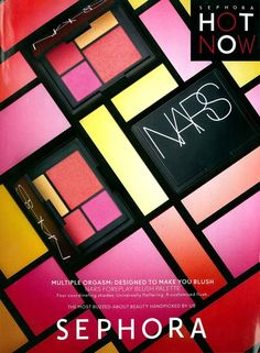 Jed Root Still Life Photographer Koichiro Doi photographs the colorful Nars Foreplay Blush Palette for Sephora's Fall 2012 Hot Now campaign