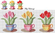 Arada soluklanıyoruz ya...Designed by Filiz Türkocağı... Cross Stitch Rose, Cross Stitch Borders, Cross Stitch Flowers, Cross Stitch Designs, Cross Stitch Charts, Cross Stitching, Cross Stitch Patterns, Cross Stitch Embroidery, Learn Embroidery