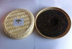 Pu erh black tea, Premium grade fermented 357 grams tea cake bamboo box packing by JOHNLEEMUSHROOM, http://www.amazon.com/dp/B00U1GAQ6Q/ref=cm_sw_r_pi_dp_x_h50pzbV4PPQDJ