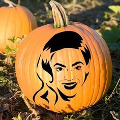 40 Pumpkin Carving Printables to Upgrade Your Jack-O'-Lantern Game
