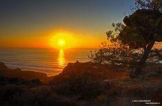 black beach sunset-14