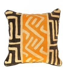 Congo Kuba Cloth Pillows with Inserts